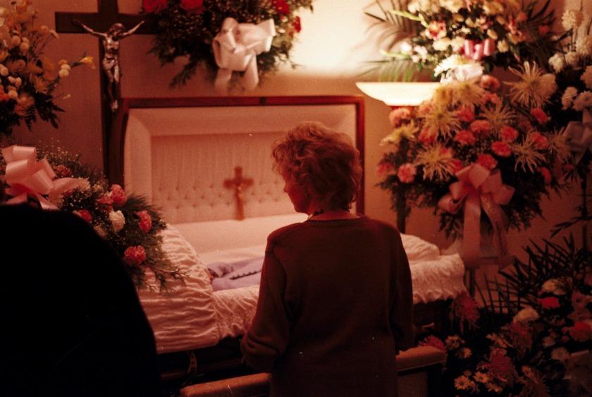 Nan says goodbye to Mom