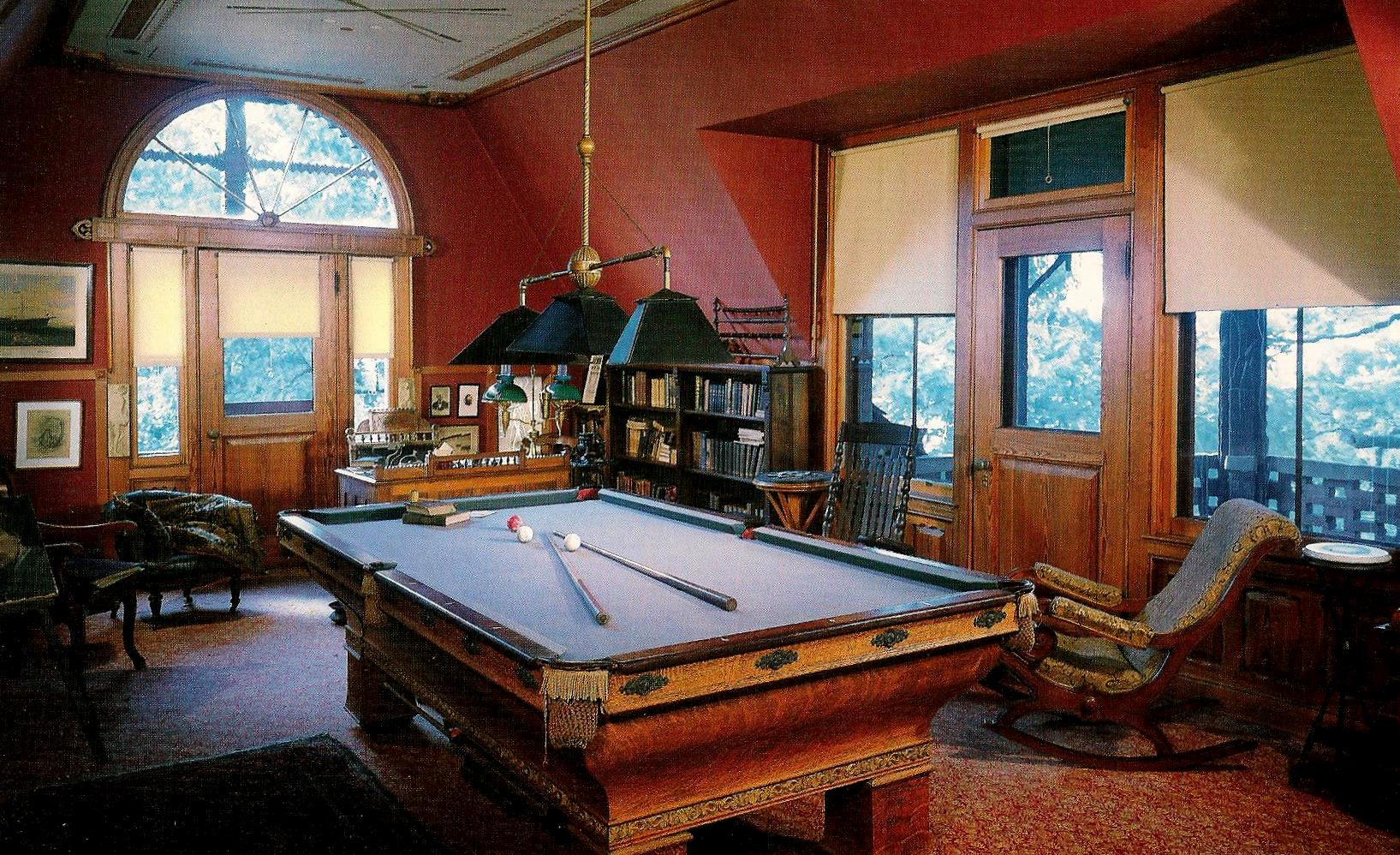 Billiard Room Blue