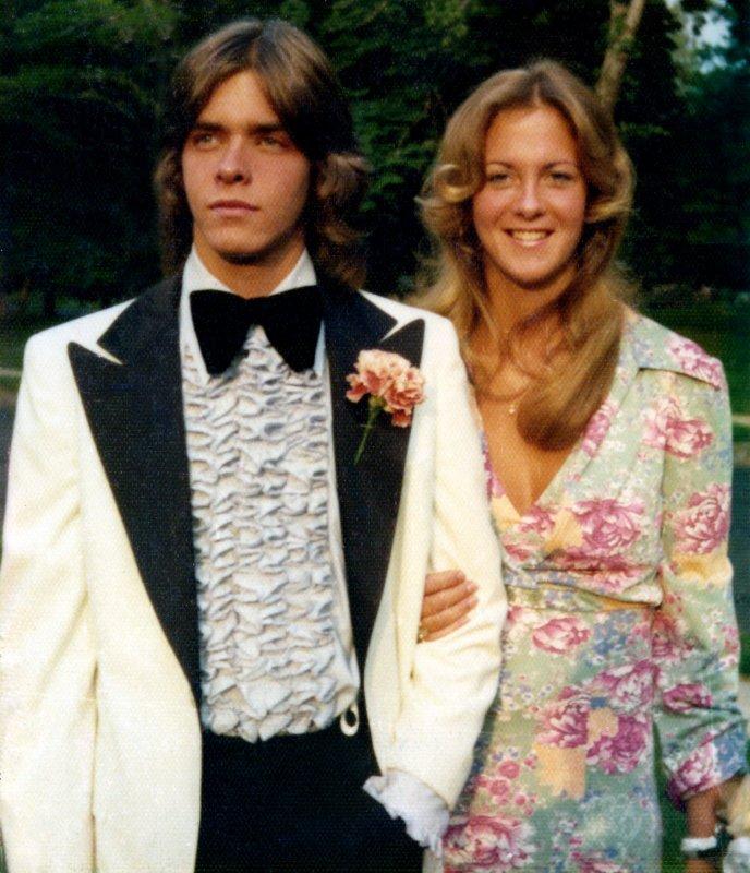 generic prom goers 70s