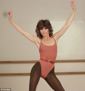 jane fonda gym togs