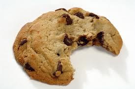 half eaten cookie