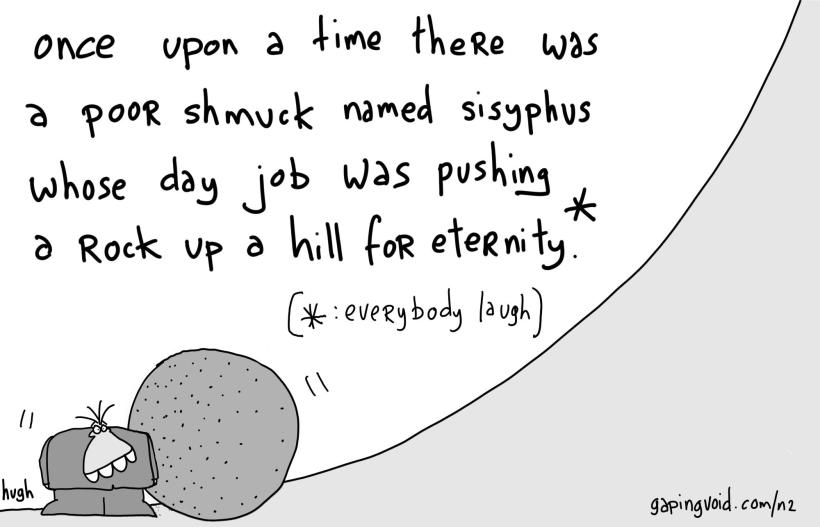 we're all sisyphus
