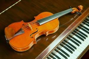 the violin and the piano