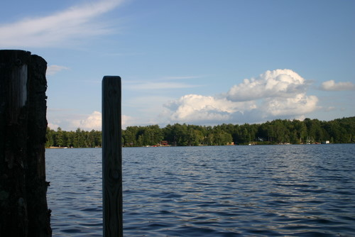 from the dock