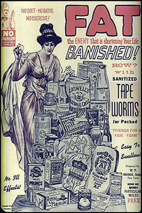 fat banishing tapeworms