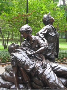 wounded soldier nurse memorial