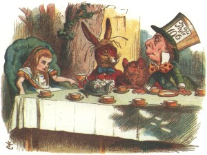 the mad hatter & alice