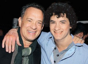 tom hanks is beside himself