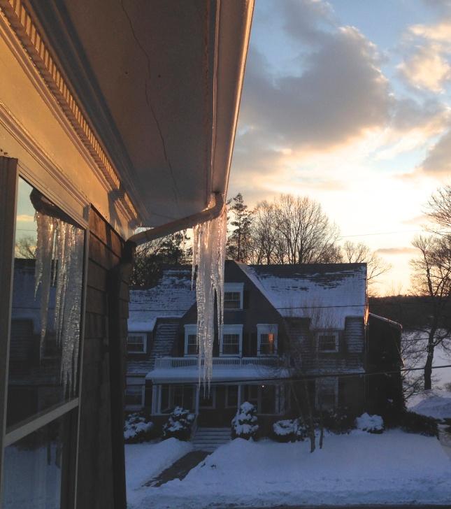 sunset Feb 10, 2014