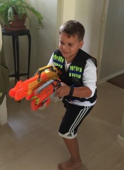 david got his gun