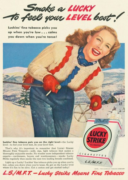 lucky strike ads