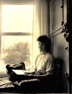 T on the window seat 1986