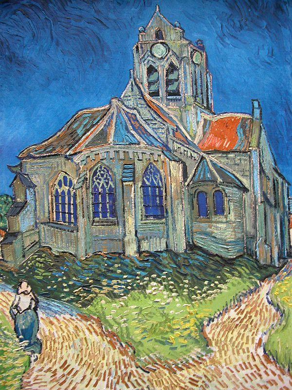 Van Gogh church Auvers-sur-Oise