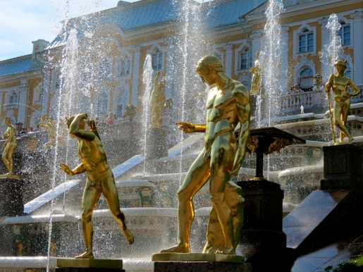 have a shower! peterhof