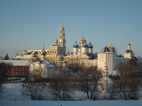 sergiev posad in winter