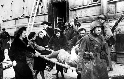 wounded in leningrad