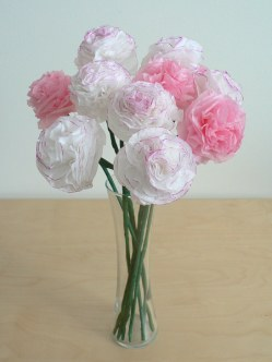 toilet paper carnations